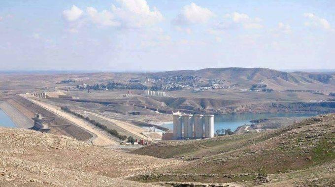 سد الموصل يخسر نصف خزينه المائي القادم من تركيا