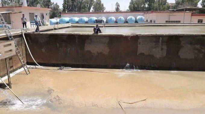 نصف مليون شخص محروم من المياه في نينوى ومعدل استهلاك الفرد(500) لتر في اليوم!