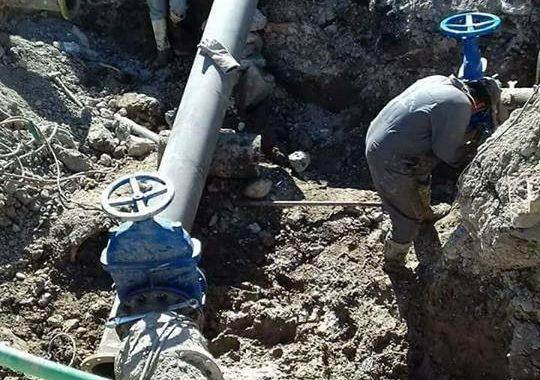 صنابير المياه تختنق بالعكورة في الموصل وشبكات النقل العجوز بحاجة الى استعادة شبابها